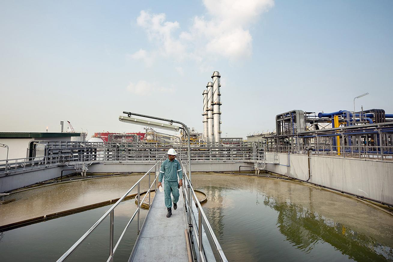 sembcorp industrial wastewater facilities jurong-island